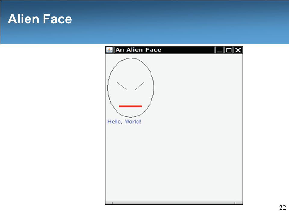 Alien Face 22