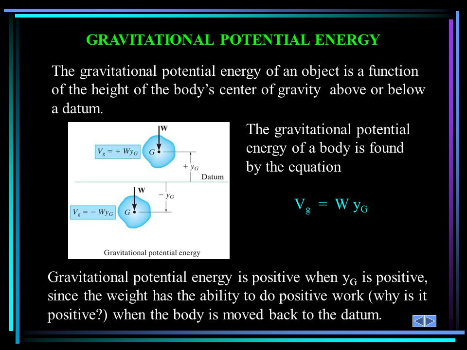 ELASTIC POTENTIAL ENERGY Spring forces are also conservative forces.