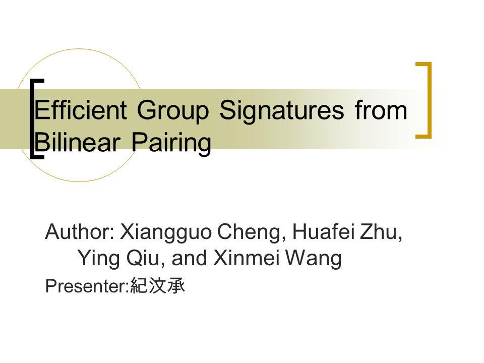 Mini Group Signature Scheme Security Analysis