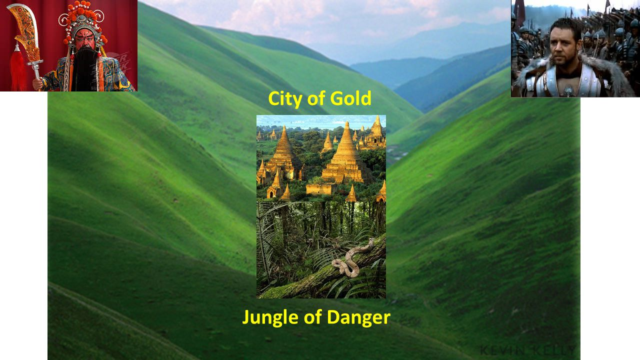 City of Gold Jungle of Danger