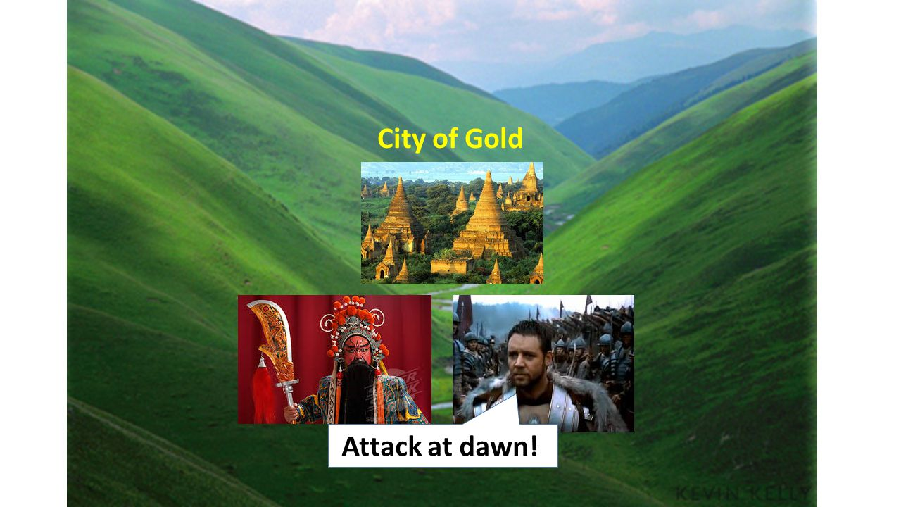 City of Gold Attack at dawn!