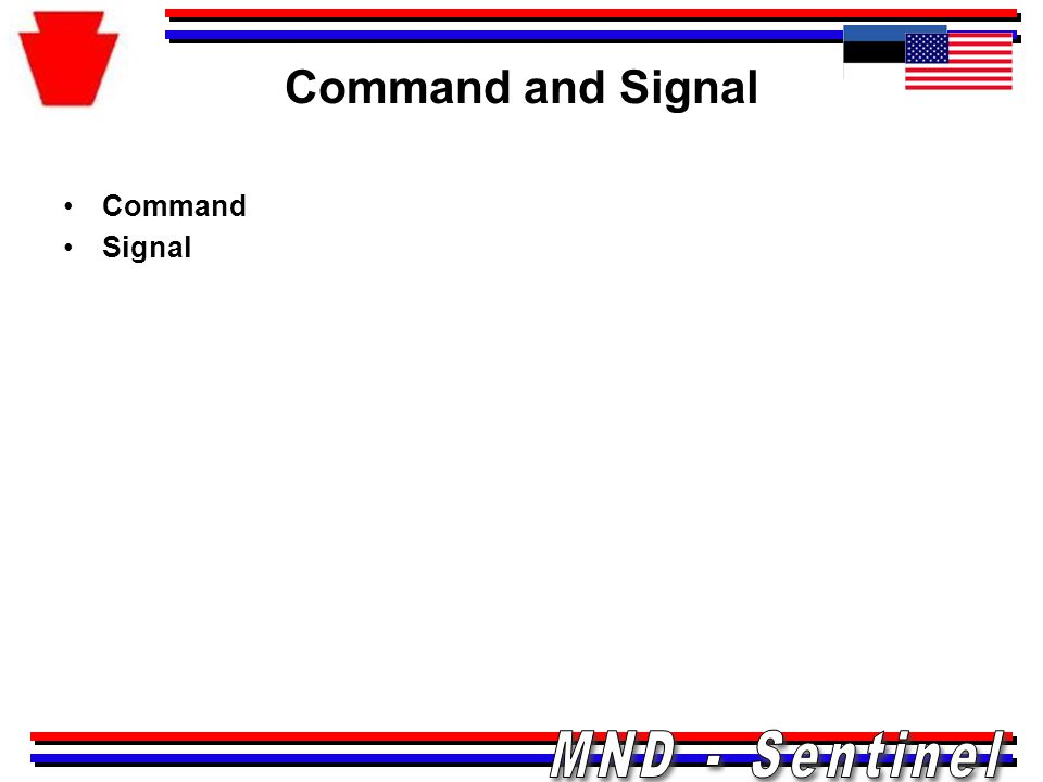 Command and Signal Command Signal
