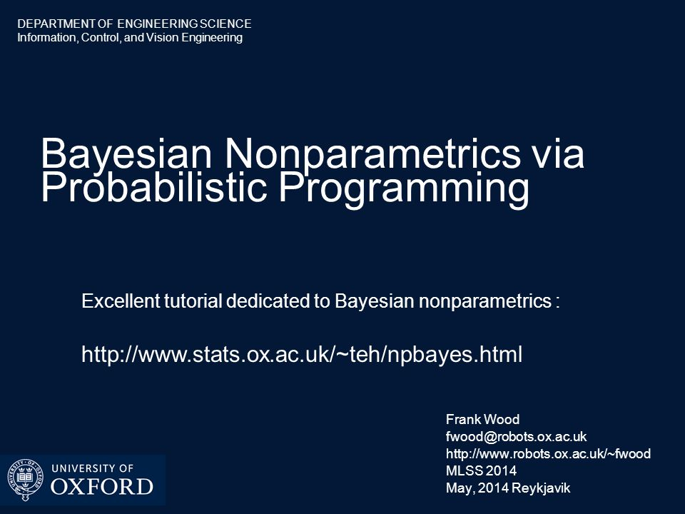 Bayesian Nonparametrics  What is a Bayesian nonparametric model.