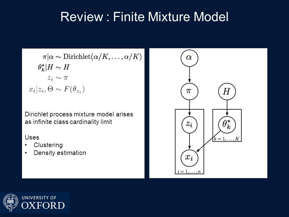 Review : Dirichlet Process Mixture