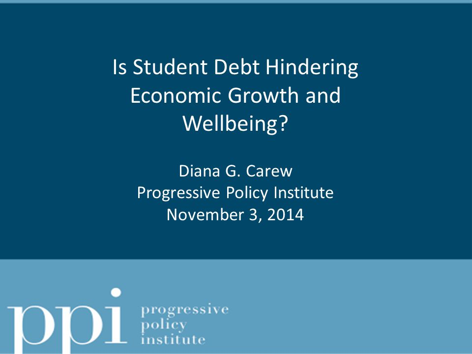 Agenda What's New in Research.Is Student Debt Killing the Economy.
