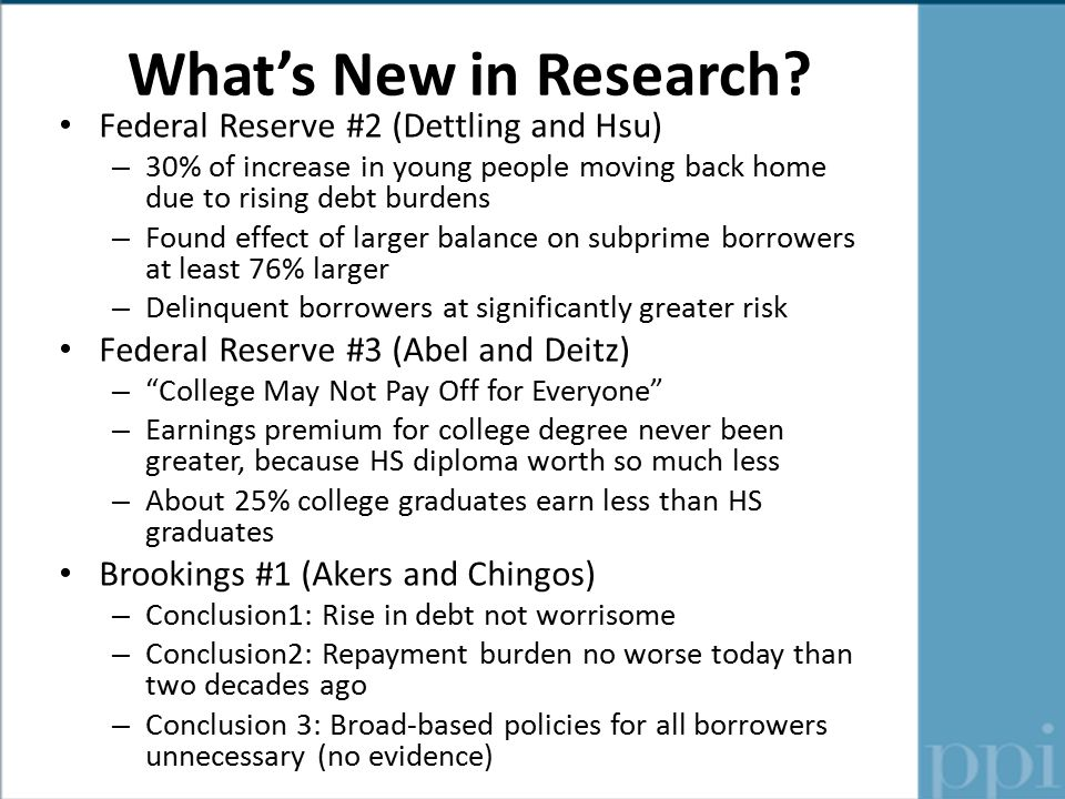 What's New in Research.