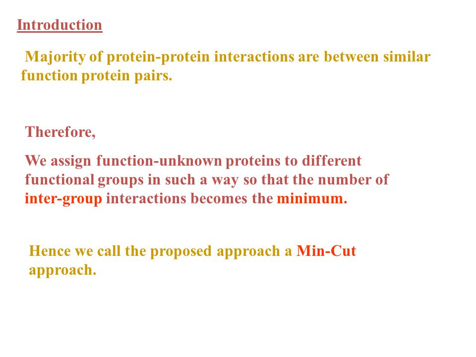 Hence we call the proposed approach a Min-Cut approach.