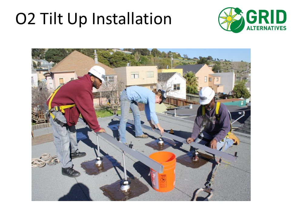 O2 Tilt Up Installation