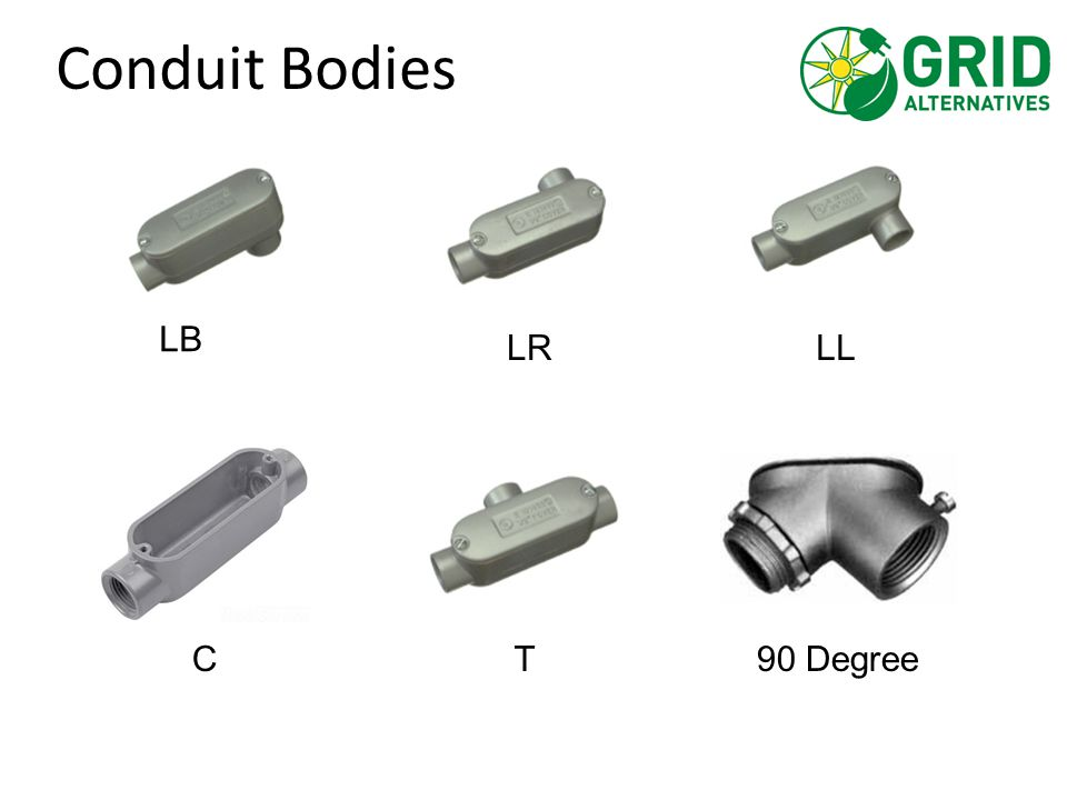Conduit Bodies LRLL T 90 Degree C LB