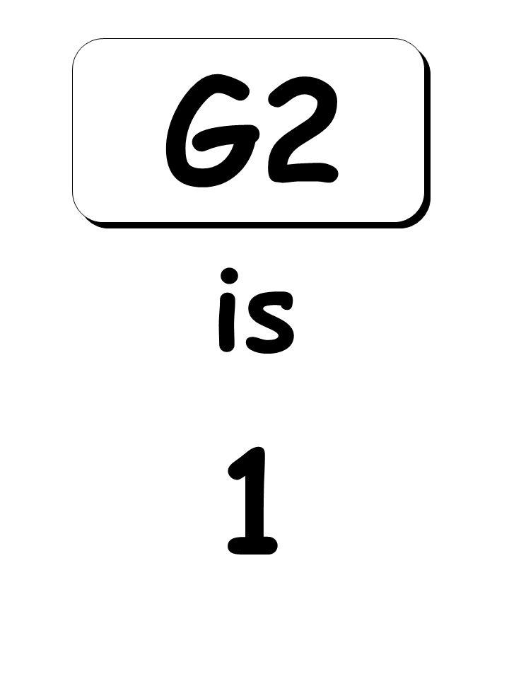 1 is G2