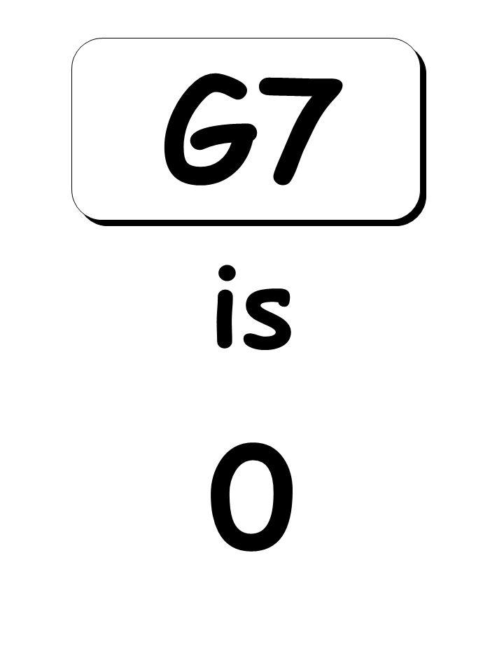 0 is G7