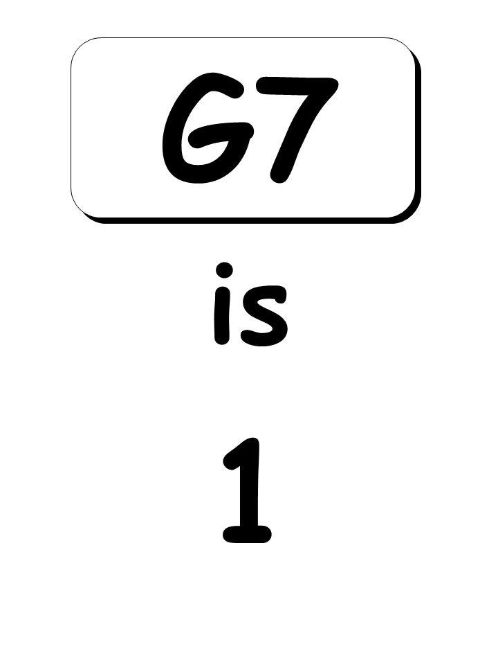1 is G7