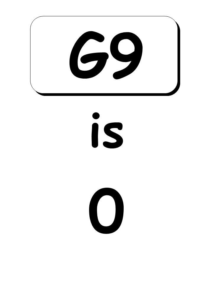 0 is G9