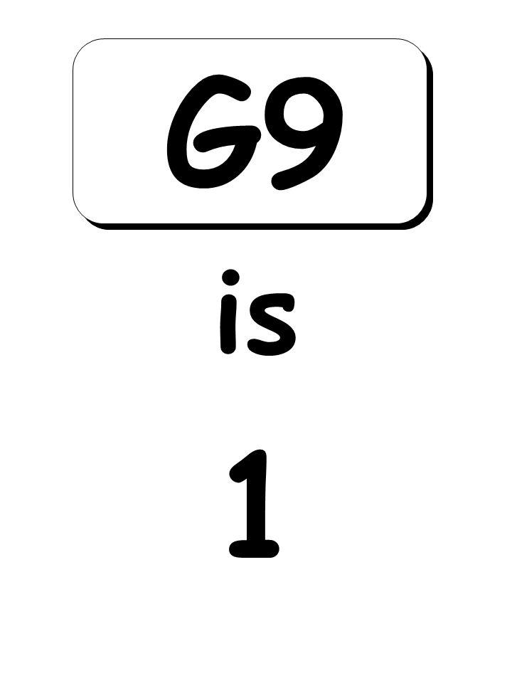 1 is G9