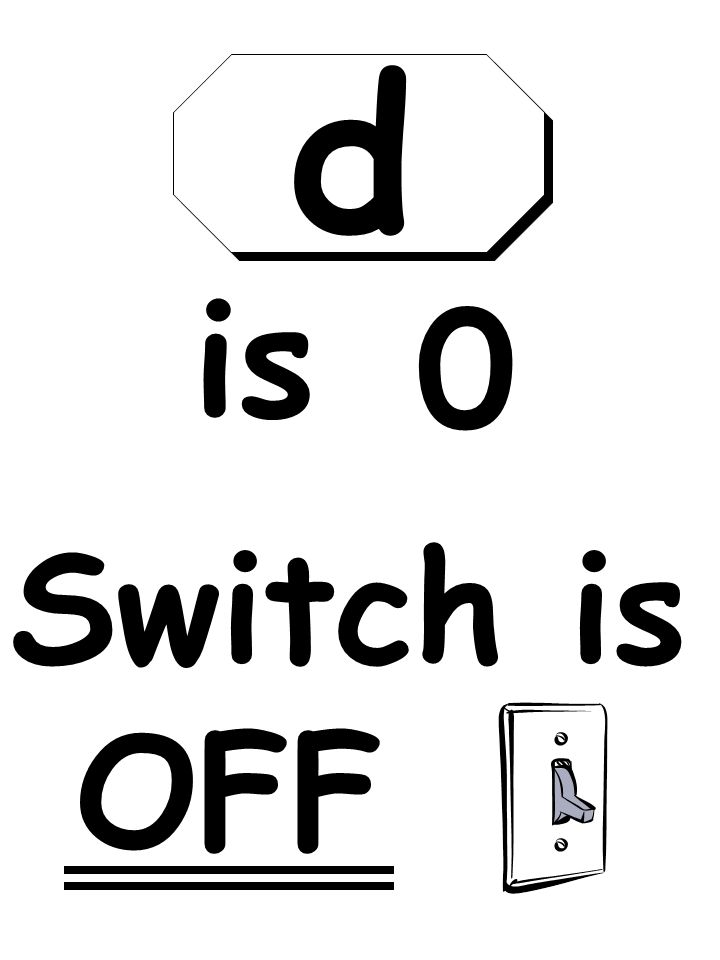 Switch is OFF is 0 d