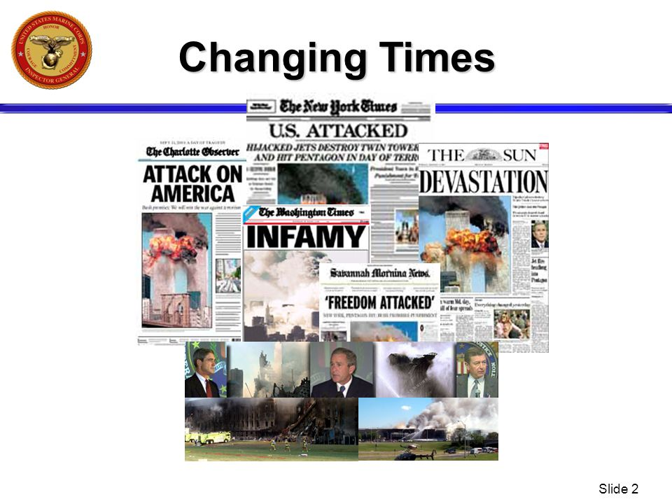 Slide 2 Changing Times