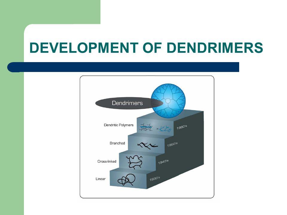 DEVELOPMENT OF DENDRIMERS
