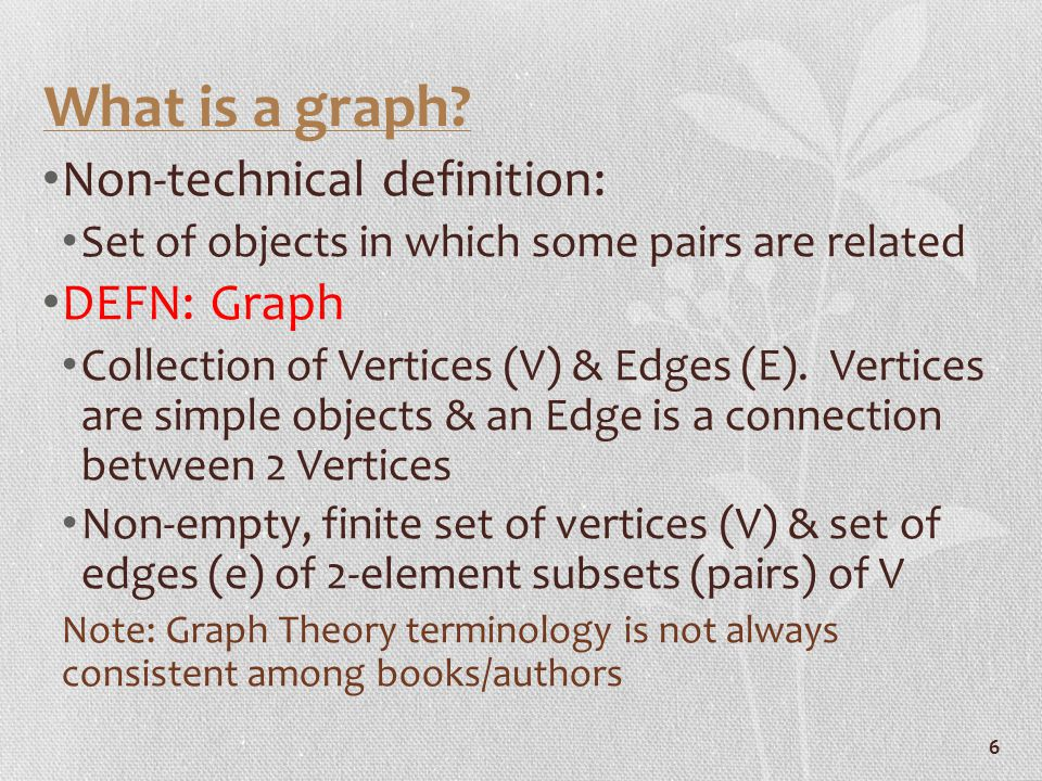 Isomorphic Graphs The following graphs are isomorphic Colors indicate the 1-to-1 correspondence 17