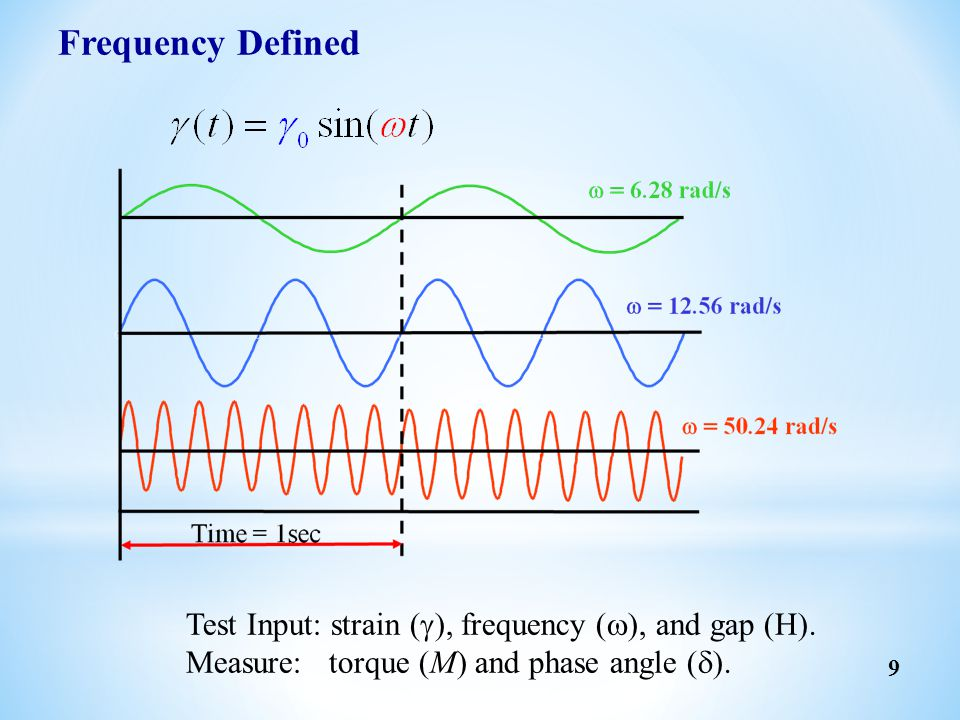 30 Oscillation tests  Frequency sweep  Time sweep  Strain/stress sweep (LVE)  Temperature ramp  Temperature/Frequency sweep (TTS)  Fast Sampling  Multiwave Transient tests  Stress relaxation  Creep & creep recovery others  Elongational test Flow tests  Constant shear rate  Continuous stress/rate ramp and down  Steady state shear rate sweep  Flow temperature ramp  Flow reversal  LAOS  Strain-Rate Frequency Superposition (SRFS) Rheological Measurements