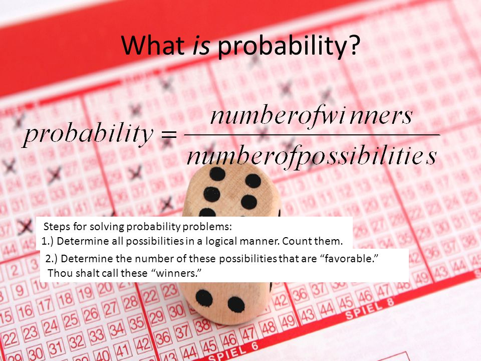 What's the probability… That this slideshow is about probability? By Ellen Brown, Kaylee Kline, and Madeline Zoe Hill McNichols