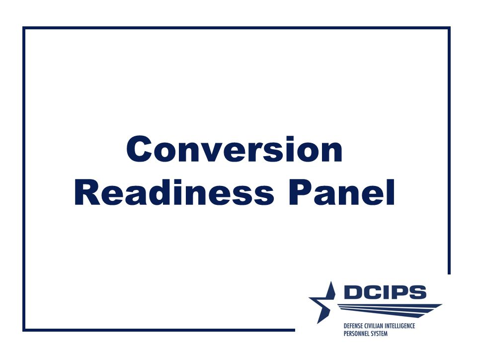 Conversion Readiness Panel