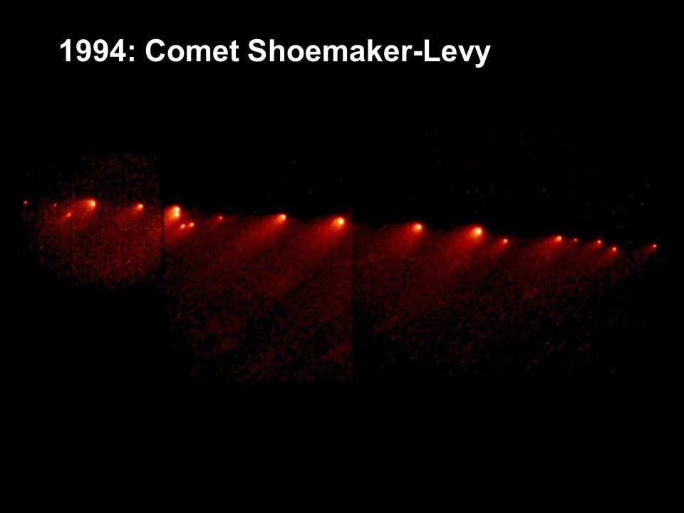 1994: Comet Shoemaker-Levy