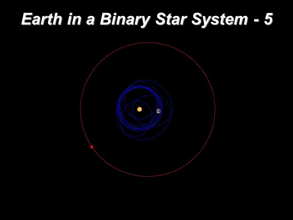 Earth in a Binary Star System - 5