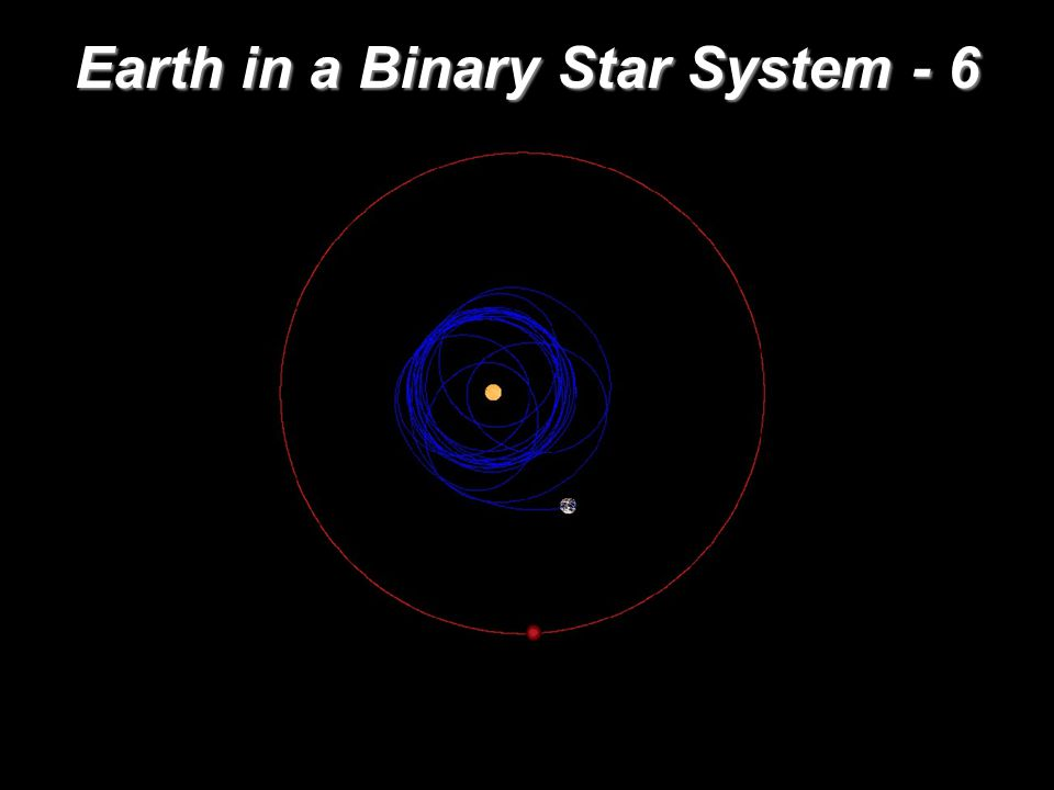 Earth in a Binary Star System - 6