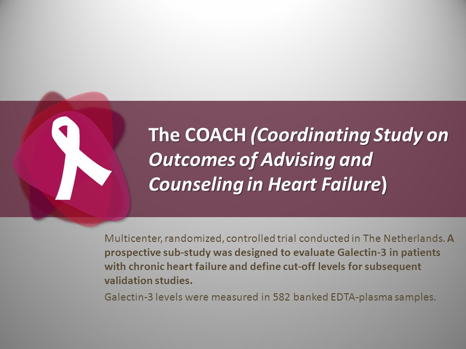 The COACH (Coordinating Study on Outcomes of Advising and Counseling in Heart Failure) Multicenter, randomized, controlled trial conducted in The Neth