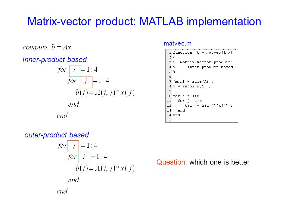 Decision-making in MATLAB