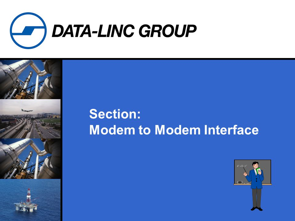 Section: Modem to Modem Interface