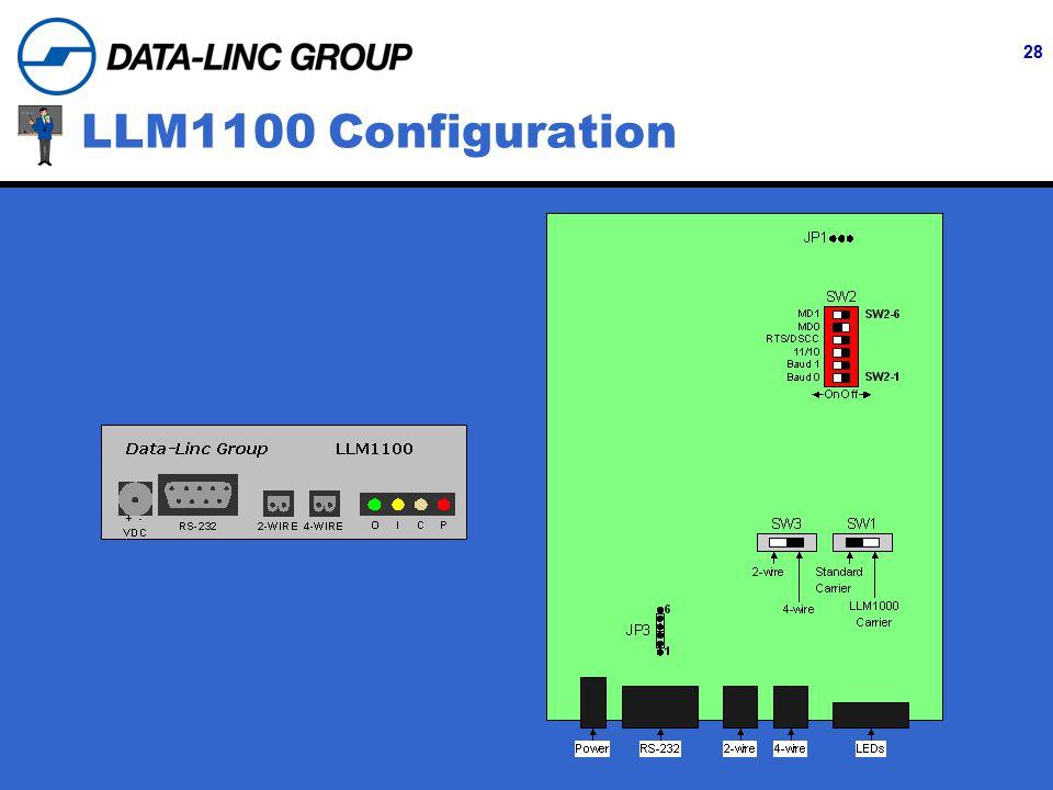 28 LLM1100 Configuration