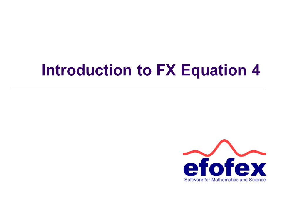 Introduction to FX Equation 4