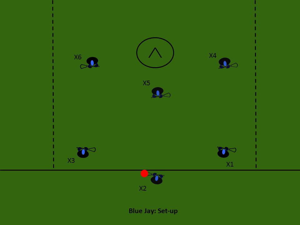 Blue Jay: Set-up X6 X4 X5 X3 X1 X2