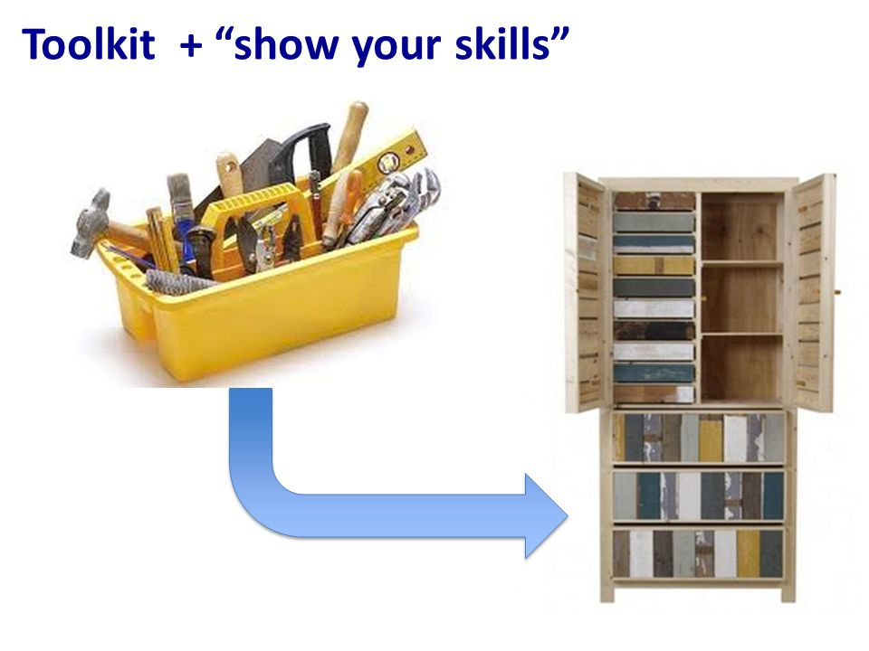Toolkit + show your skills