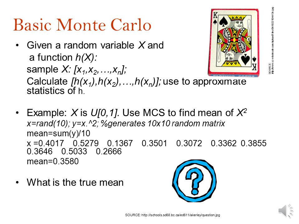 How do we generate the statistics of a function of a random variable.