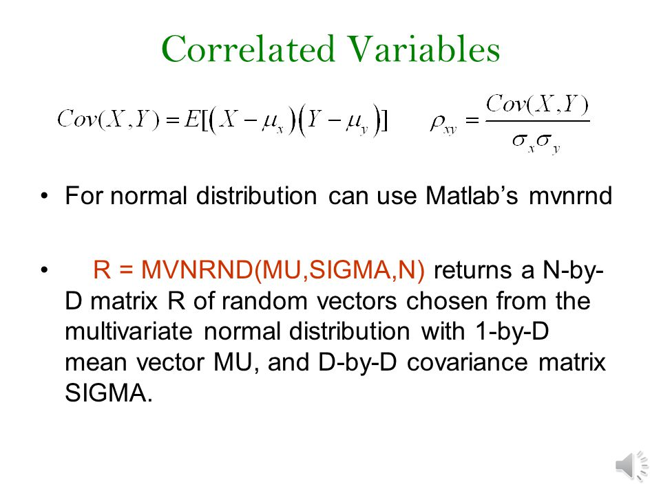 Other distributions Other distributions available in matlab For example, Weibull distribution r=wblrnd(1,1,1000); hist(r,20)