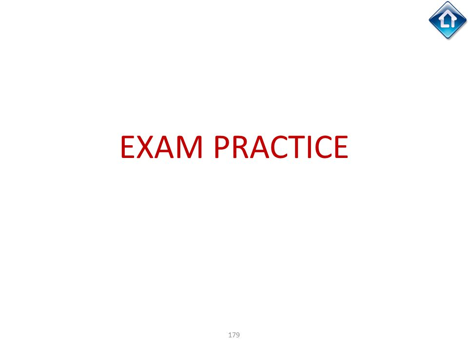 179 EXAM PRACTICE