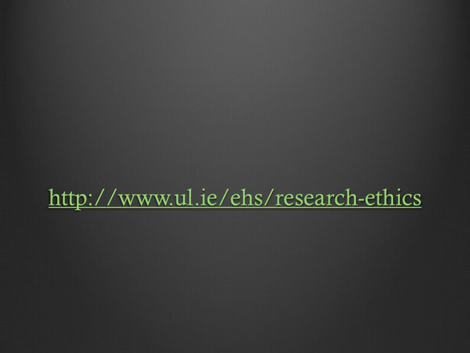 http://www.ul.ie/ehs/research-ethics