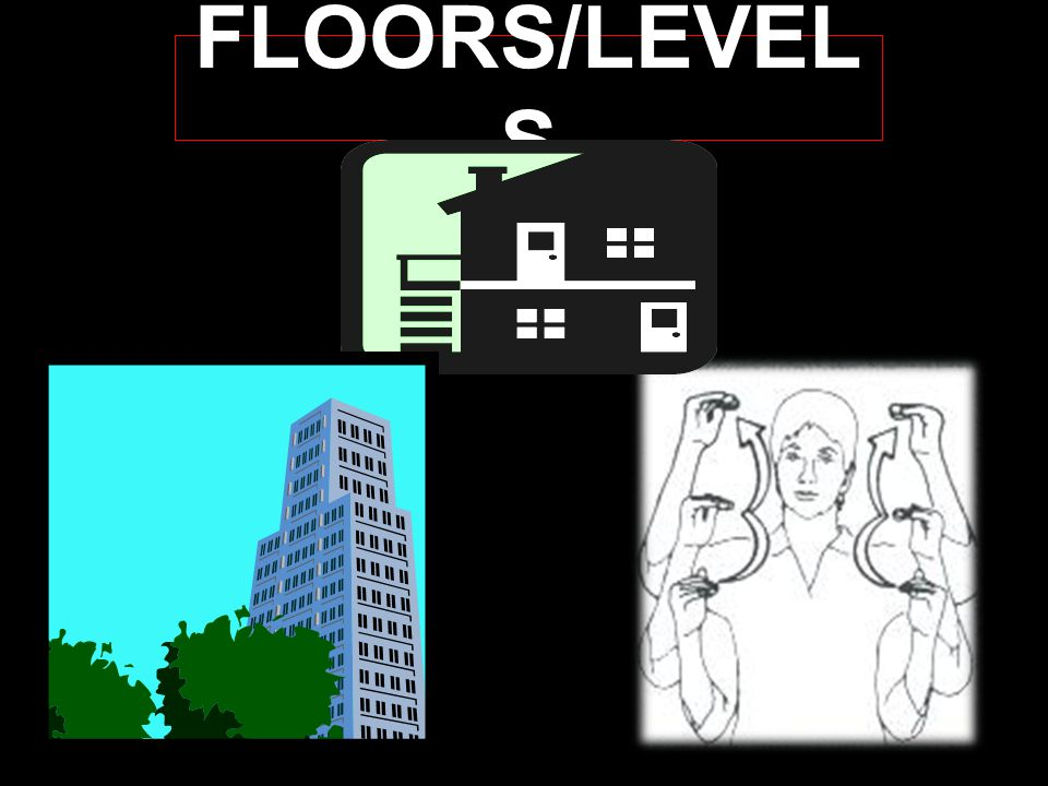 FLOORS/LEVEL S