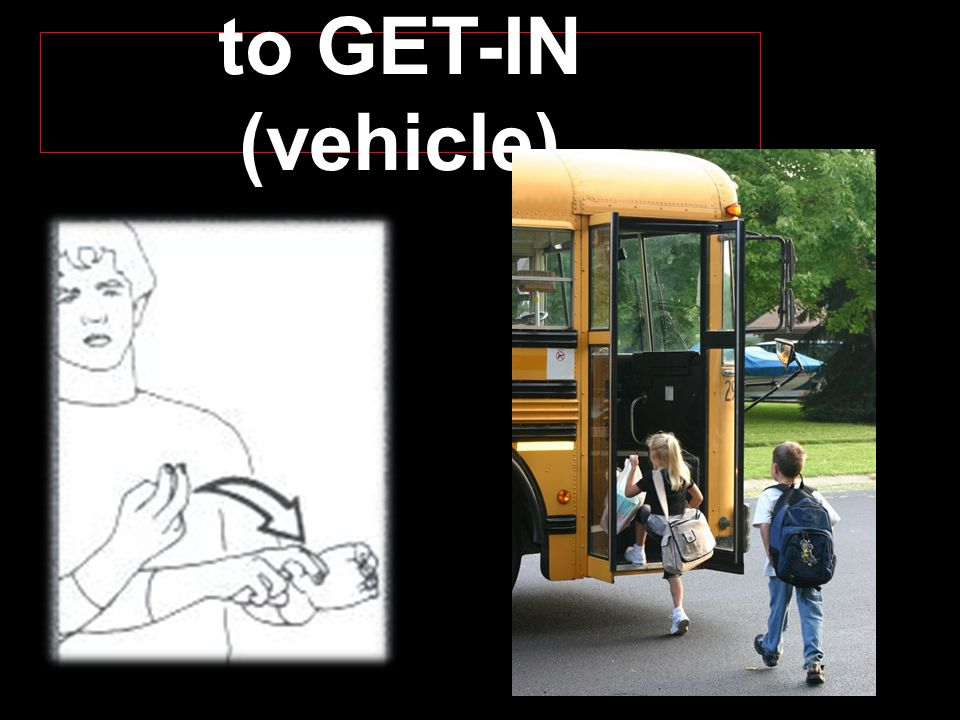 to GET-IN (vehicle)