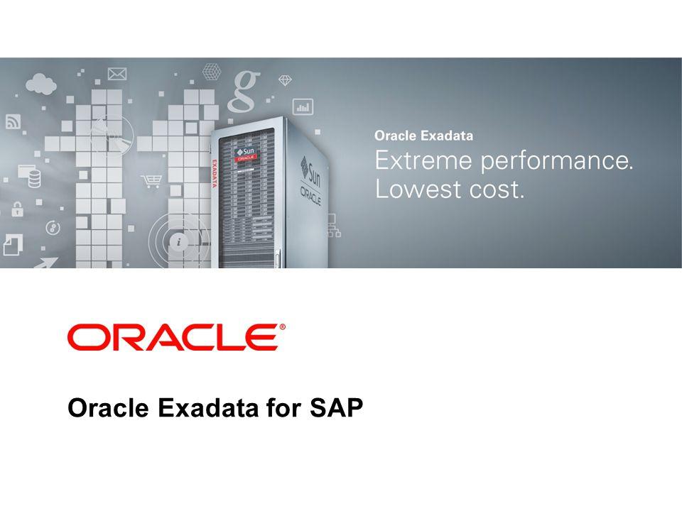 Oracle Exadata for SAP