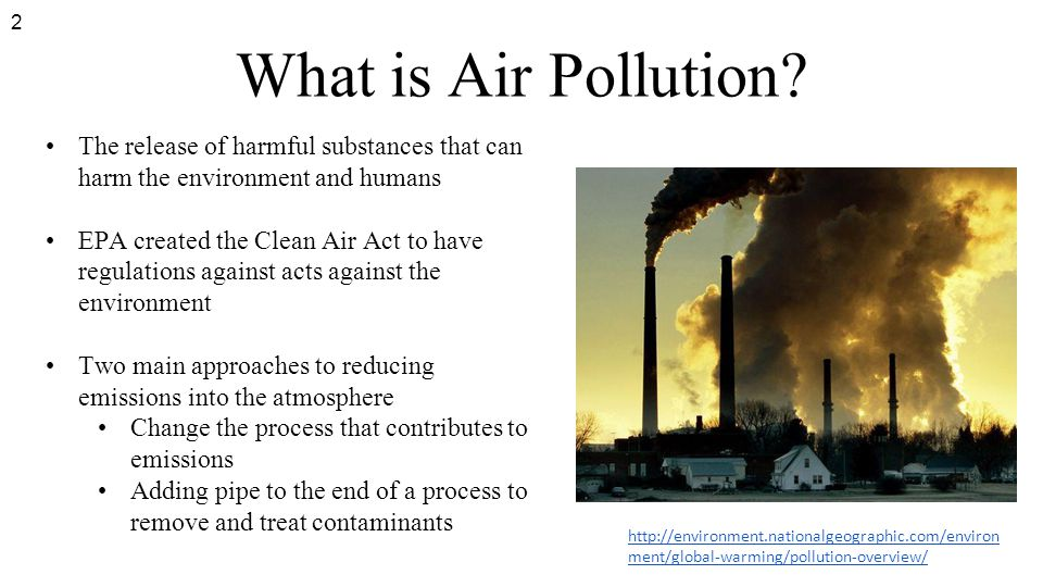 Clean Air Act EPA Clean Air Act violations and the resulting punishments 3