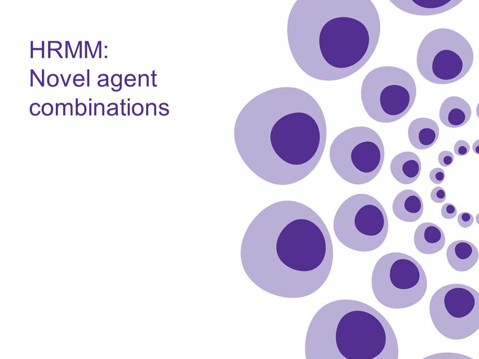 HRMM: Novel agent combinations