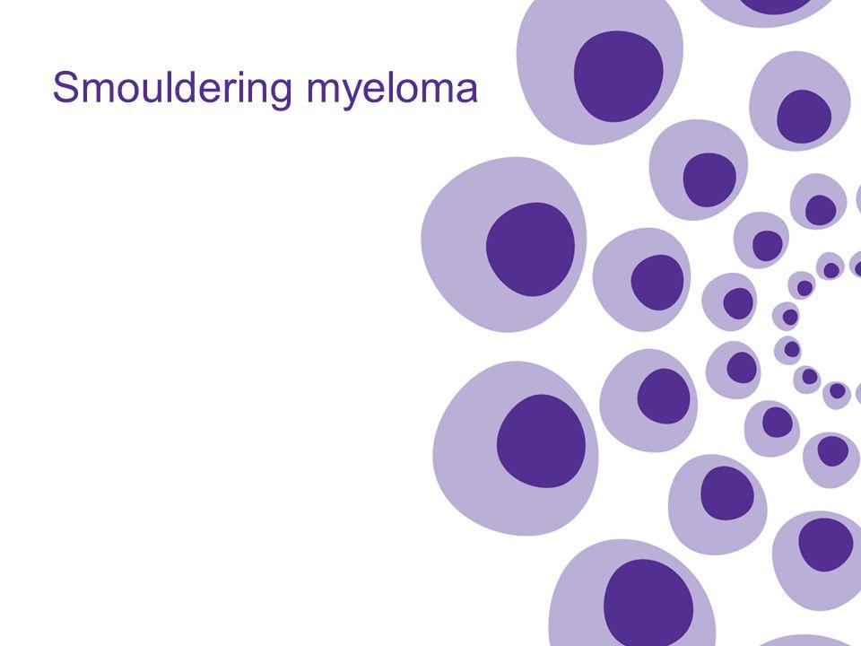 Smouldering myeloma