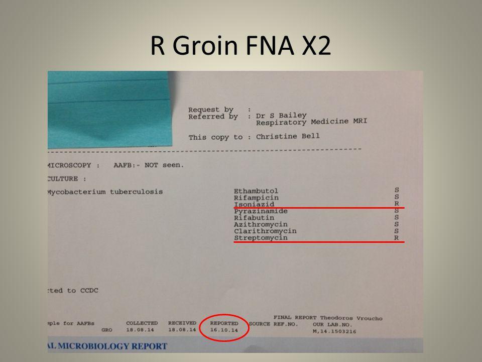 R Groin FNA X2