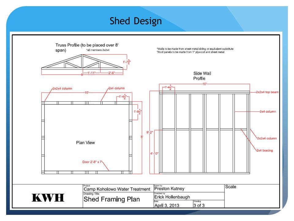 Shed Design