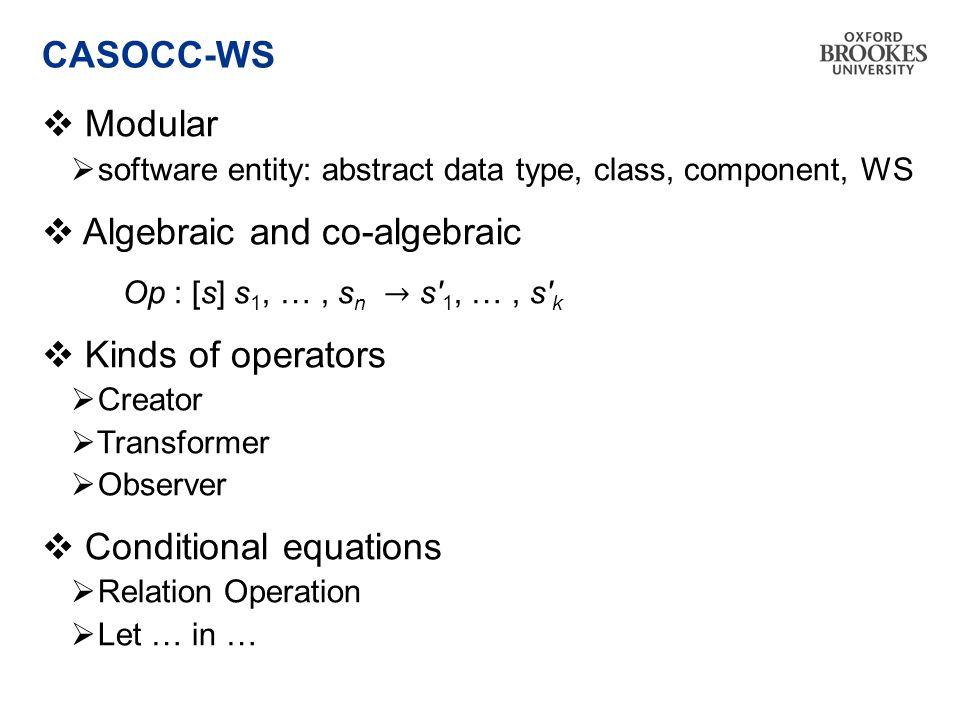 CASOCC-WS
