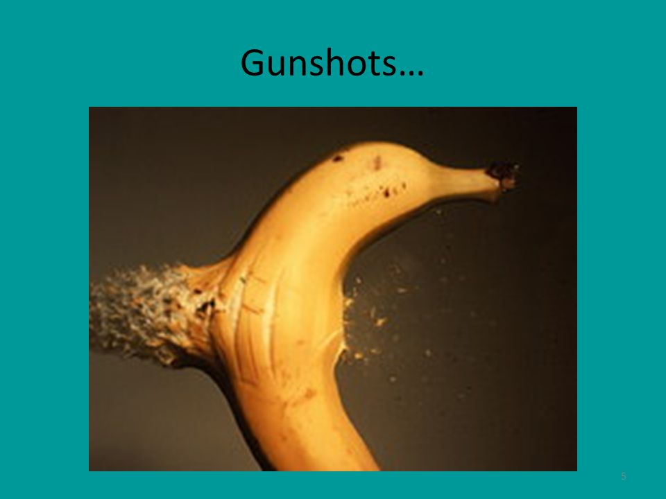 6 Gunshot Victims