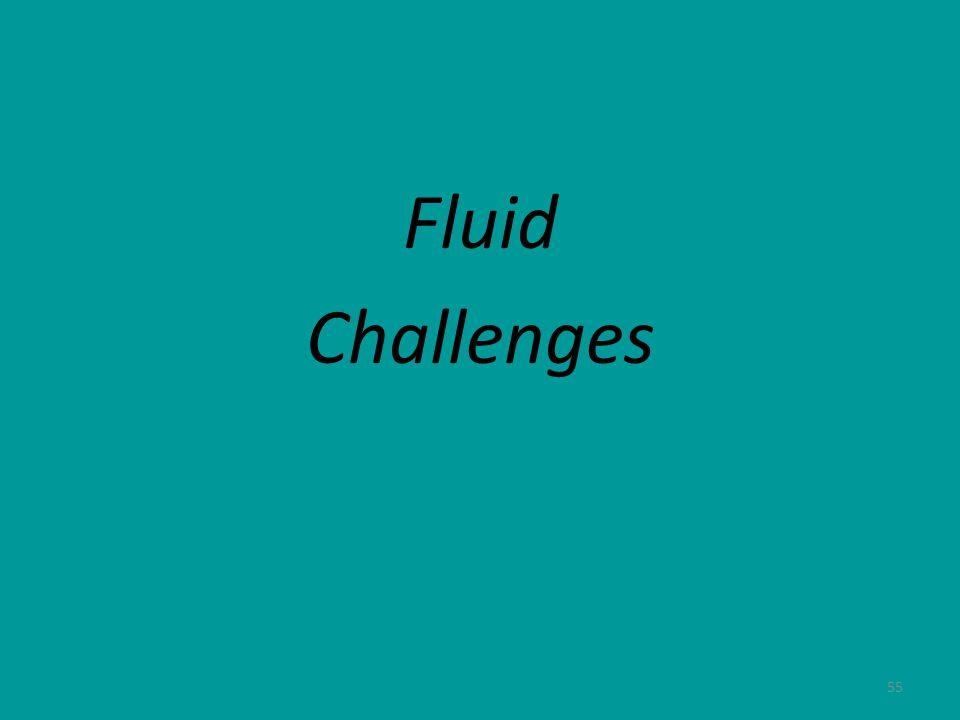 55 Fluid Challenges